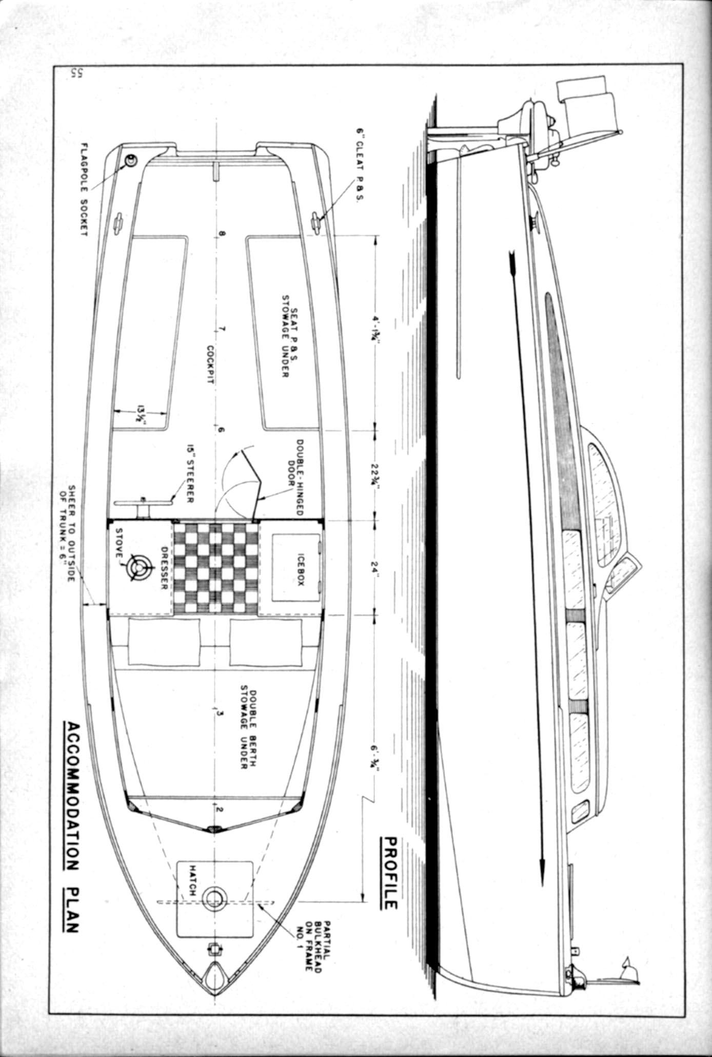 Free Boat Plans Cabin Cruiser Diy Sht