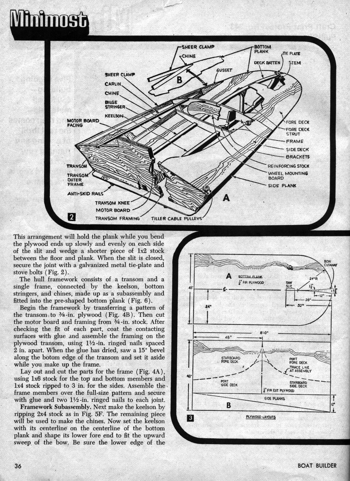 Real Free model hydroplane plans | Buildsme