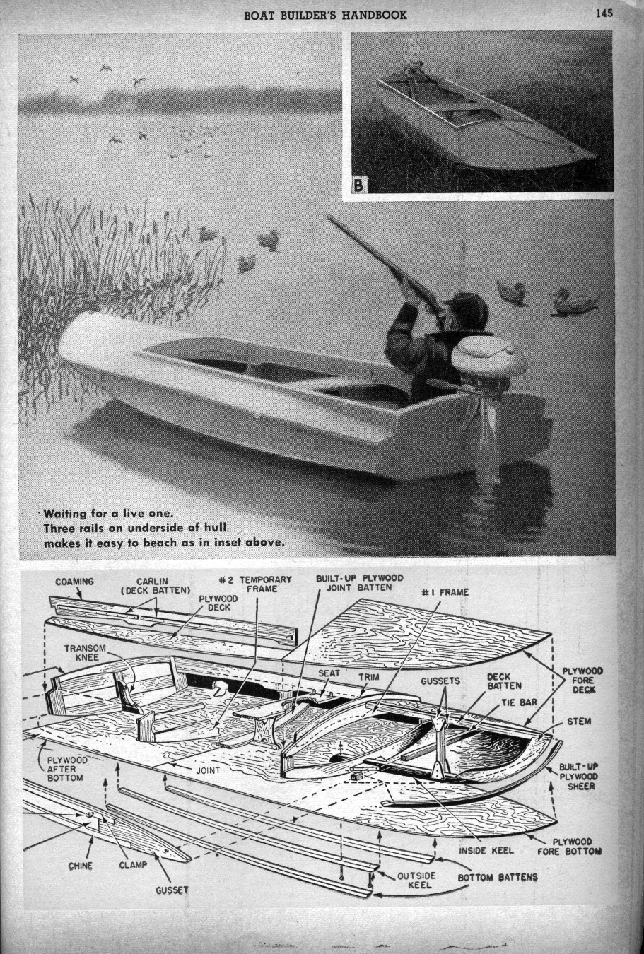 Sneak Boat Plans submited images.
