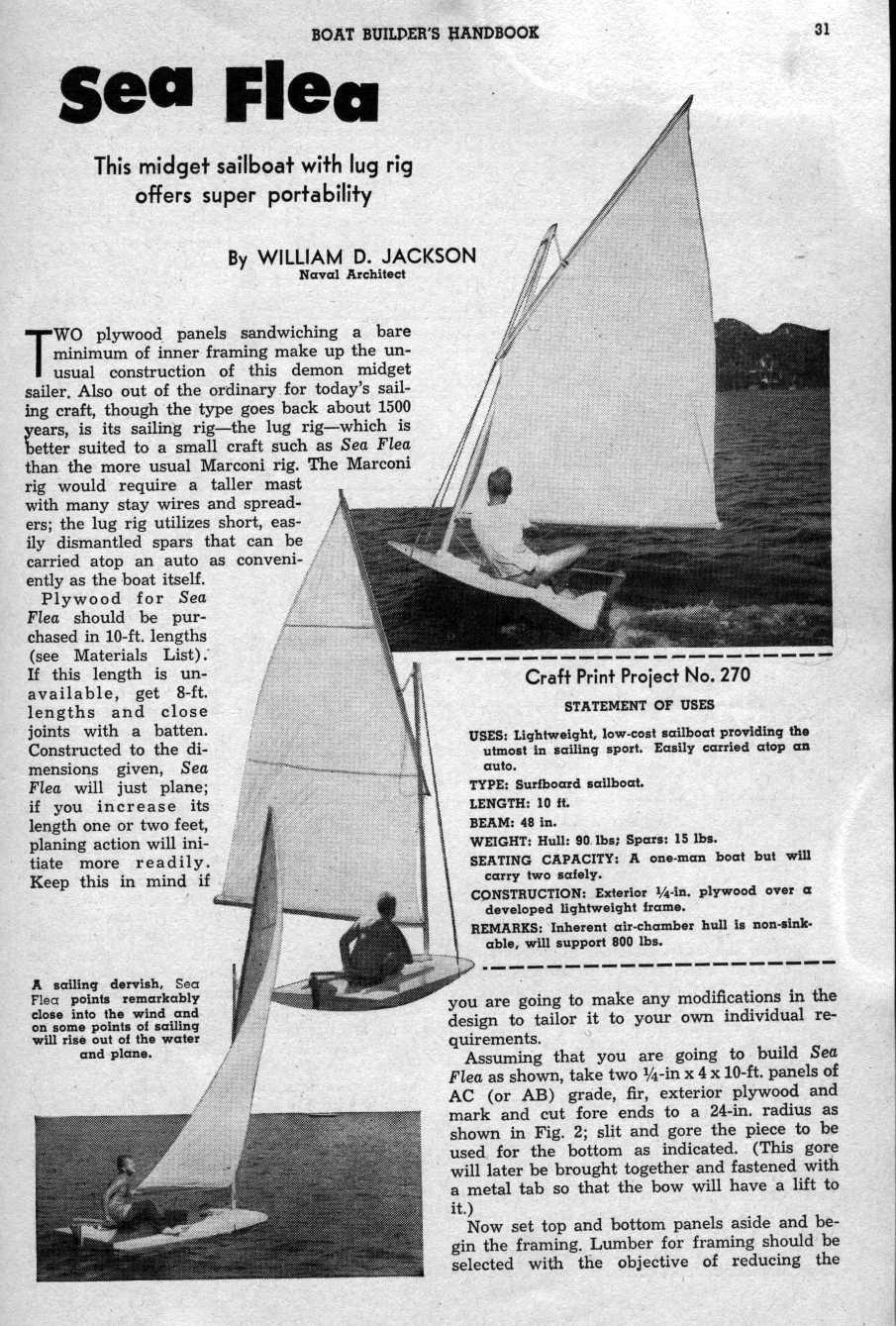 SailBoats SeaFlea
