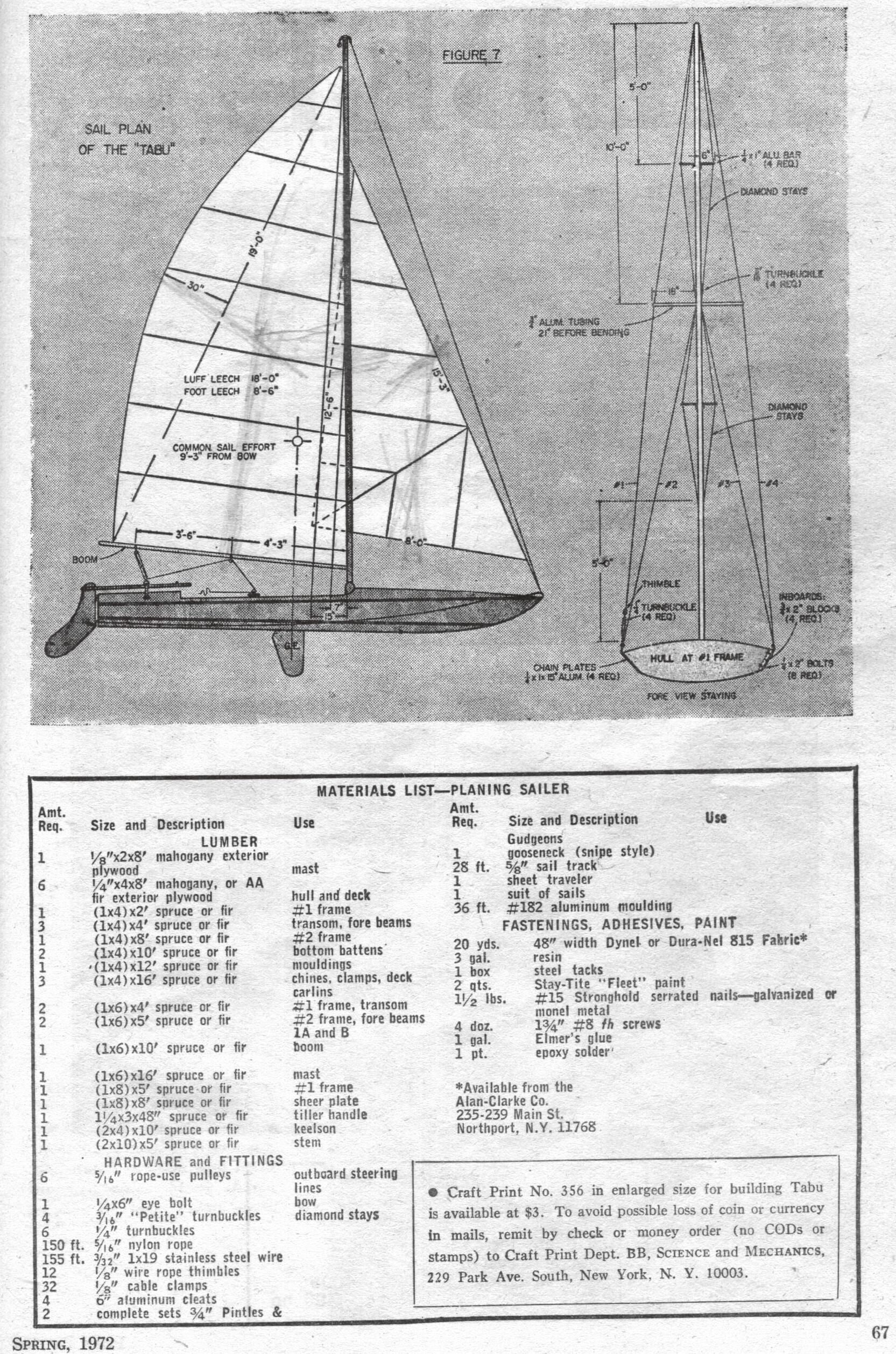 SailBoats Tabu