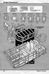 MechanixIllustrated BudgetHouseBoat